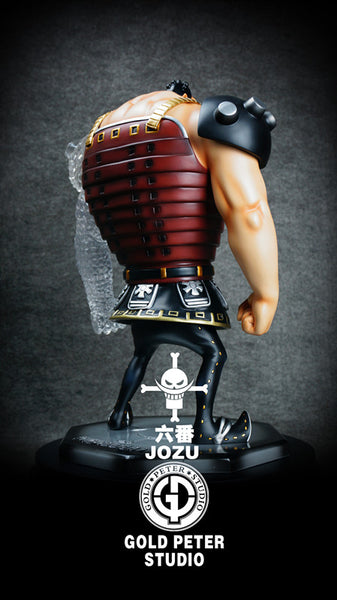 One Piece Gold Peter Studio Whitebeard Pirates 3rd Division Commander Jozu Resin Statue