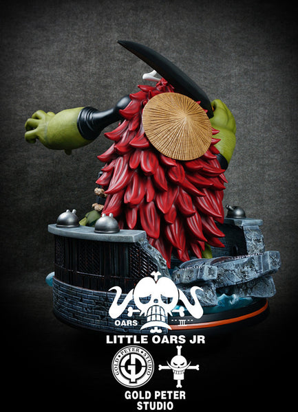 One Piece - Gold Peter Studio - Whitebead Pirates Little Oars Jr. Resin Statue
