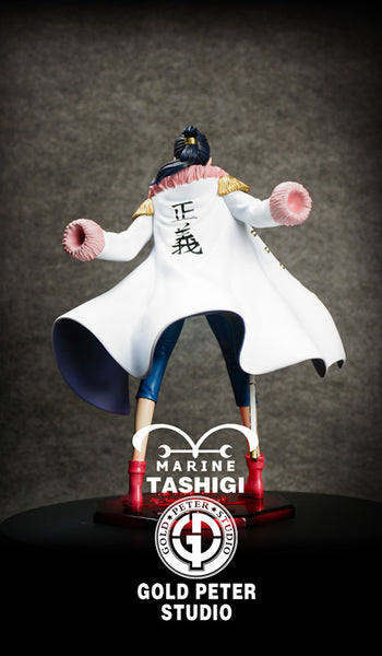 [Back Order] One Piece Gold Peter Studio Marine Tashigi Resin Statue