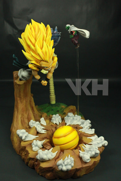 Dragon Ball VKH SSJ3 Gotenks VS Super Buu Resin Statue