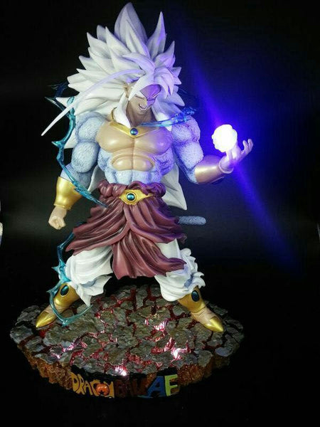 Dragon Ball Kakitoy Super Saiyan 5 Broly Resin Statue