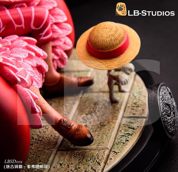 One Piece LBS SD001 Donquixote Doflamingo Resin Statue