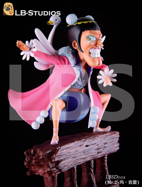 One Piece LBS SD002 Mr. 2 Bon Kure Resin Statue