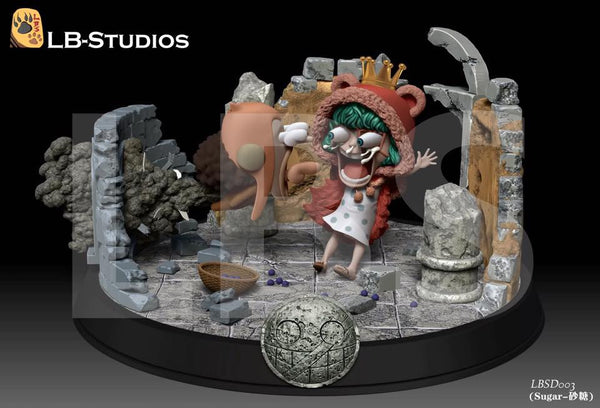 One Piece LBS SD003 Usopp and Sugar Resin Statue
