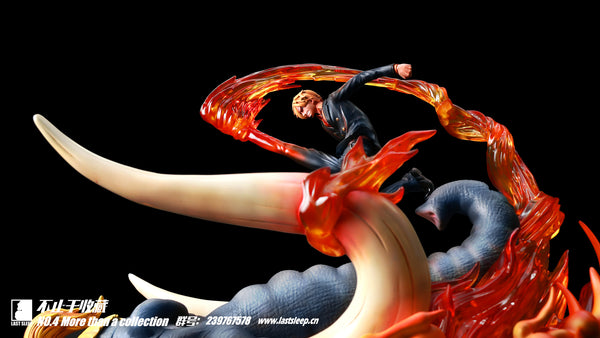 One Piece Last Sleep No. 4 Sanji VS Jack Resin Statue