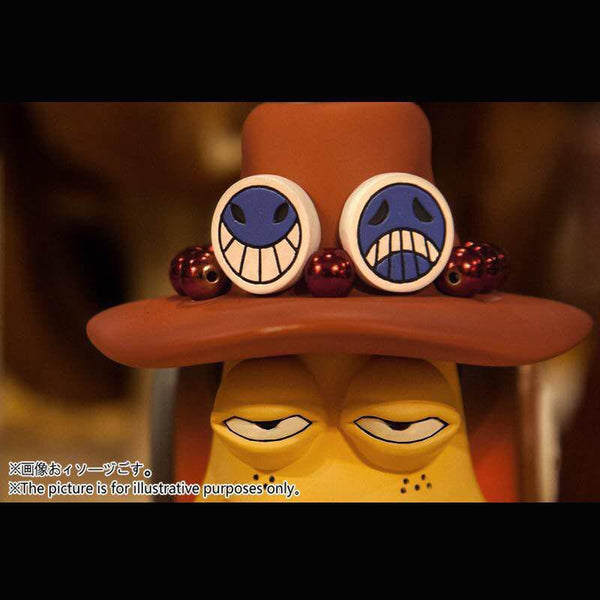 One Piece LSeven POWERMAX Den Den Mushi Monkey D Luffy and Portgas D Ace Version
