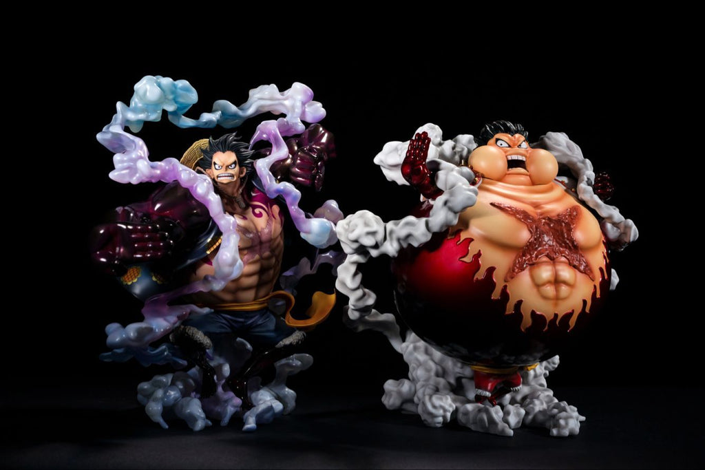 One Piece LSeven Monkey D. Luffy Gear 4 Tankman Manpuku Version Resin Statue