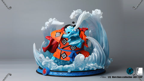 [PO] One Piece Last Sleep No. 1 Jinbe Resin Statue