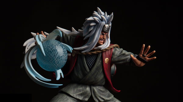 [Back Order] Naruto Shippuden Last Sleep No. 5 Jiraiya with Gamabunta Resin Statue