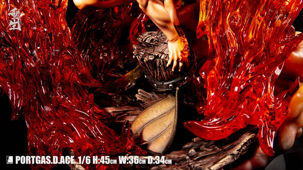 [PO] One Piece - Last Sleep - Portgas D. Ace Rebirth Version Resin Statue