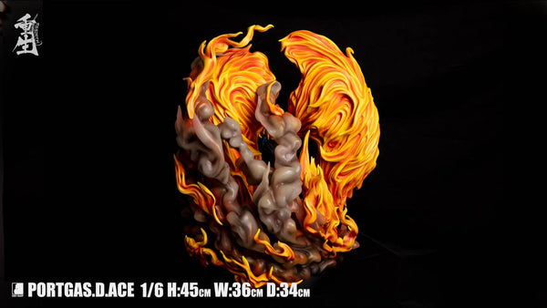 [Back Order] One Piece - Last Sleep - Portgas D. Ace Rebirth Version Resin Statue