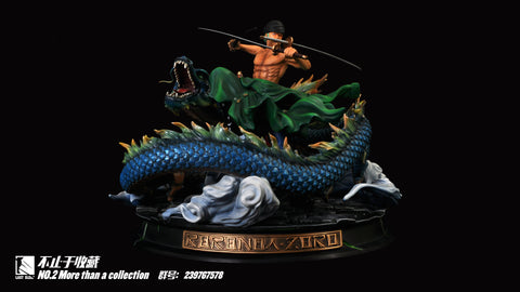 [PO] One Piece Last Sleep No. 2 Roronoa Zoro Resin Statue