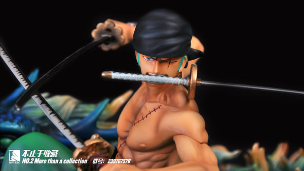 One Piece Last Sleep No. 2 Roronoa Zoro Resin Statue