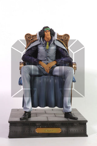 [PO] One Piece Model Palace Marine Admirals Kuzan Aokiji Resin Statue