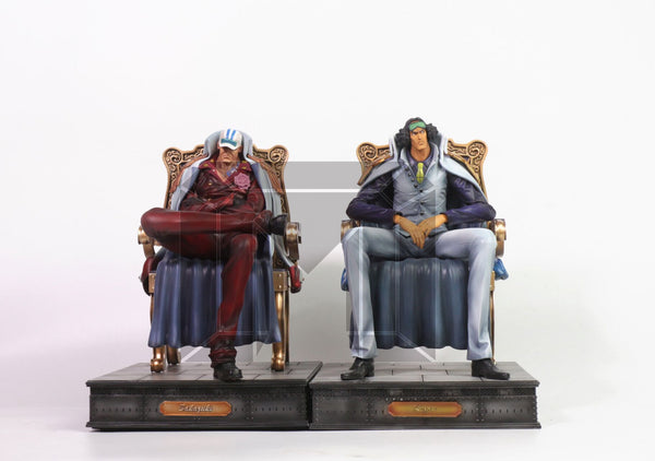 One Piece Model Palace Marine Admirals Sakazuki Akainu Resin Statue