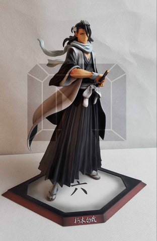 [PO] Bleach Model Palace DTALL-004 6th Division Kuchiki Byakuya Resin Statue