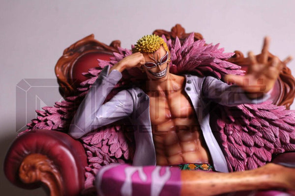 One Piece Model Palace DTJP-004 Donquixote Doflamingo Resin Statue