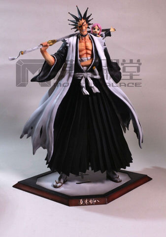 Bleach Model Palace 11th Division Zaraki Kenpachi and Yachiru Kusajishi Resin Statue