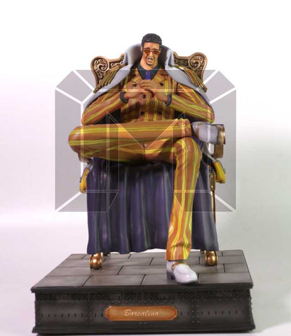 [Back Order] One Piece Model Palace Marine Admirals Borsalino Kizaru Resin Statue
