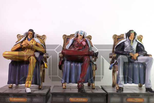 One Piece Model Palace Marine Admirals Borsalino Kizaru Resin Statue