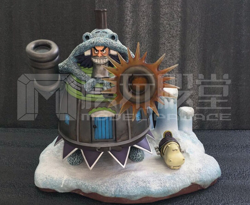 One Piece Model Palace / U2 DTFUN-005 Minor Boss Series Baku Baku no Mi Wapol Resin Statue