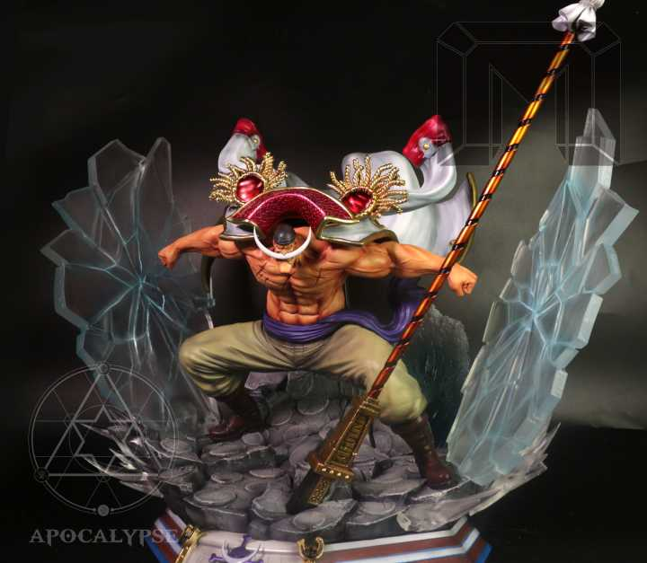 [PO] One Piece - Model Palace x Apocalypse - Yonko Whitebeard Edward Newgate Resin Statue
