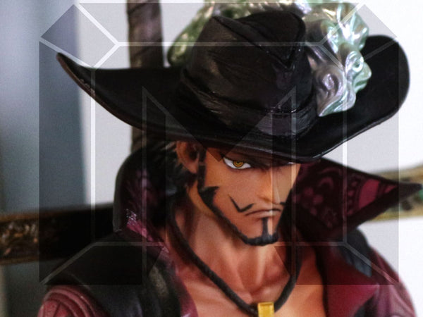 One Piece Model Palace Shichibukai Dracule Mihawk Resin Statue