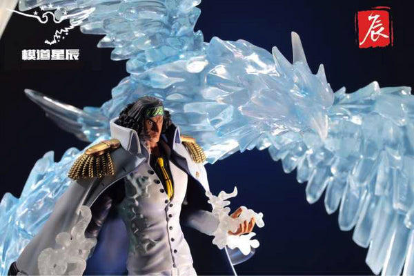 One Piece Model Stars Marine Admiral Aokiji Kuzan Resin Statue