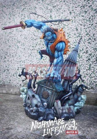 [PO] One Piece - Master Du - Nightmare Luffy Resin Statue