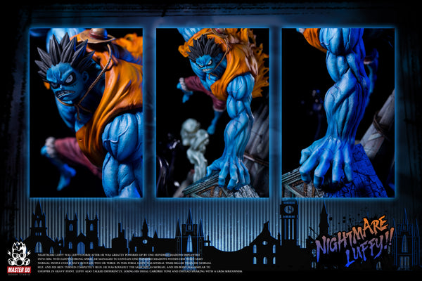 [Back Order] One Piece - Master Du - Nightmare Luffy Resin Statue
