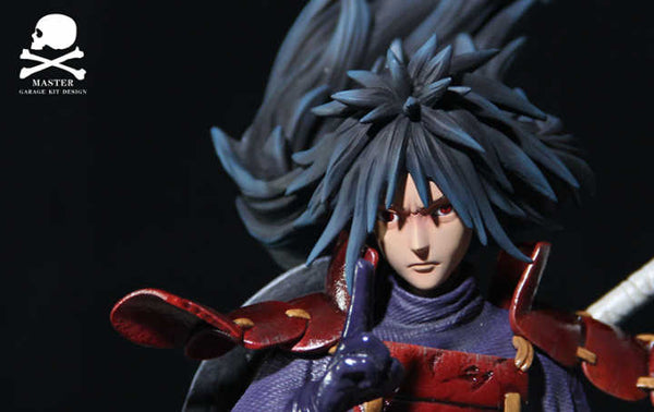 [Back Order] Naruto Shippuden - Master - MS-005 Uchiha Madara with Susanoo Armour Kurama Resin Statue