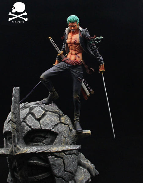 One Piece Master Design Roronoa Zoro vs Pica Resin Statue