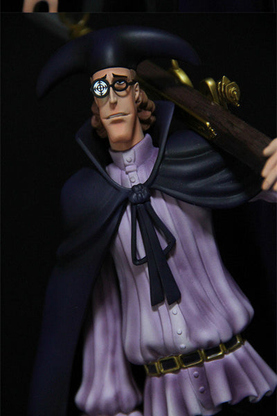 One Piece Mobius Van Augur Resin Statue