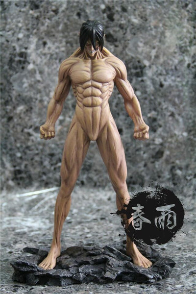 Attack On Titan Mo Wang Ge Eren Yeager/Jaeger Titan Resin Statue