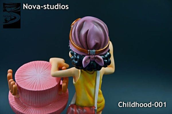 One Piece Nova Studios Childhood 001 Usopp and Chopper Resin Figure