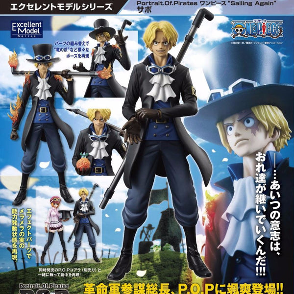 One Piece Megahouse P.O.P Sailing Again Sabo Figure