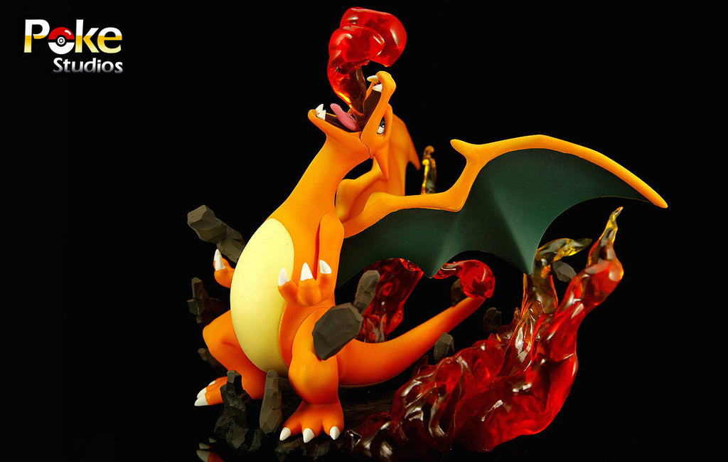[Back Order] Pokemon Poke Studios Charizard Resin Figure