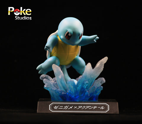 Pokemon Poke Studios Waza Museum Squirtle Resin Figure