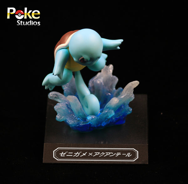 [Back Order] Pokemon Poke Studios Waza Museum Squirtle Resin Figure