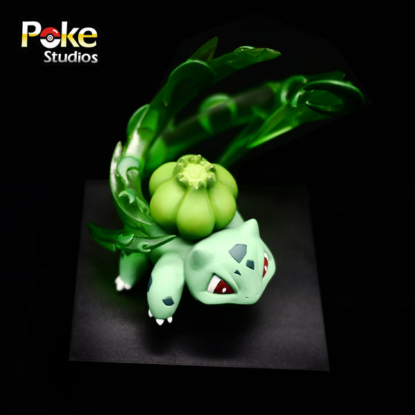 Pokemon Poke Studios Waza Museum Bulbasaur Resin Figure