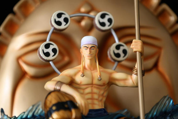 One Piece RHS God Enel Resin Statue