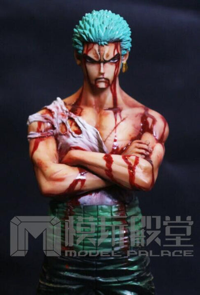 [Back Order] One Piece Model Palace DTJP-003 Roronoa Zoro Damaged Ver. Resin Statue