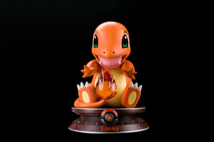 Pokemon - Radiant Star - No. 01 1:1 Scale Charmander Resin Statue