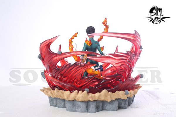 "Naruto Shippuden - SM Studio - ""Eight Gates: Gate of Limit"" Rock Lee Resin Statue"