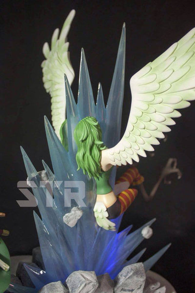 One Piece STR Roronoa Zoro VS Monet Resin Statue