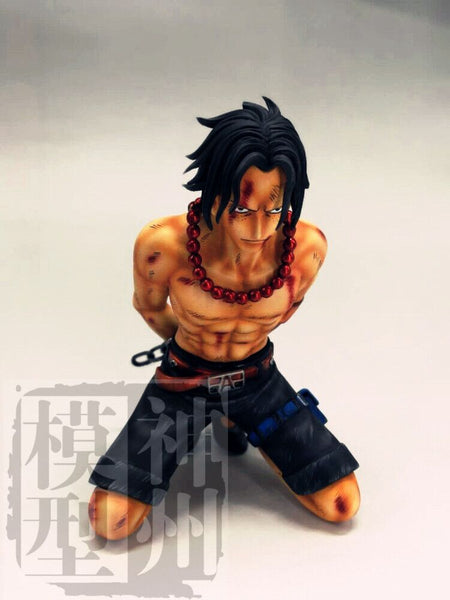 One Piece - Shenzhou Model - SZO-002 Marineford Portgas D. Ace Execution Scene Resin Statue