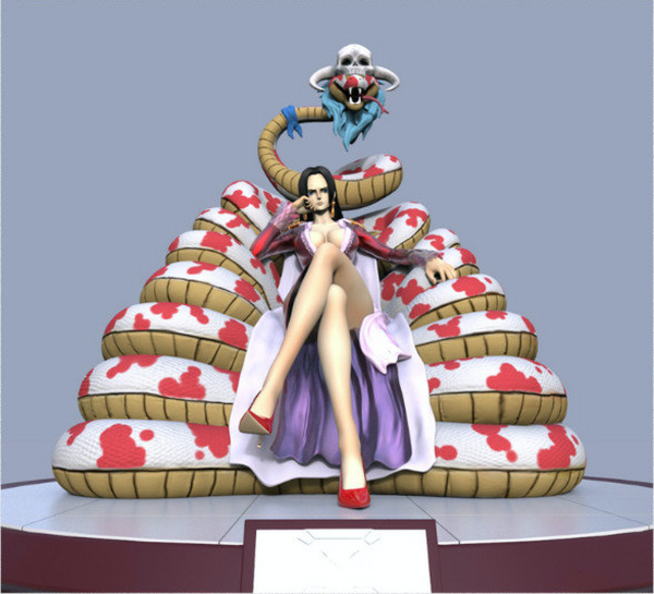 One Piece Model Palace DTJP-002 Boa Hancock Resin Statue