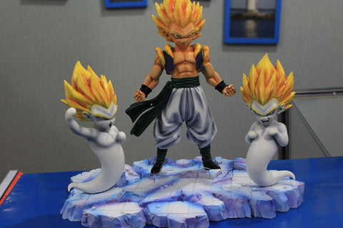 [PO] Dragon Ball Super Saiyan Gotenks Yellow Hair Ver. Resin Statue