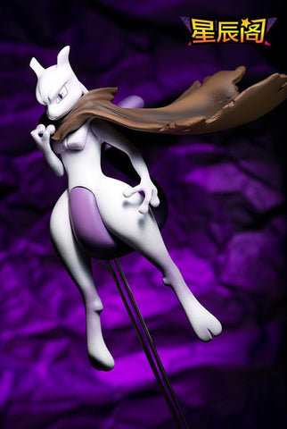 Pokemon Xing Chen Ge Mewtwo Resin Statue