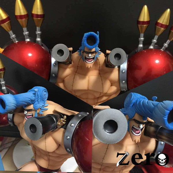 One Piece Zero P.O.P SA-Maximum Franky Hair Accessory